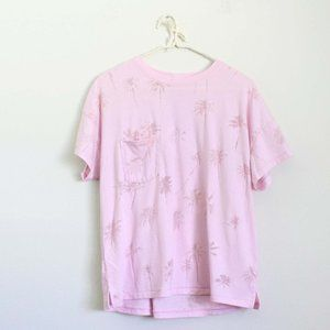 Z Supply The Pocket Palm Tee Pink